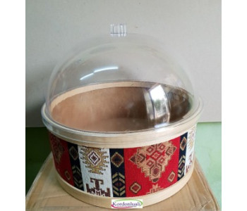 Şeffaf Kapak Çapı 30 cm Mika