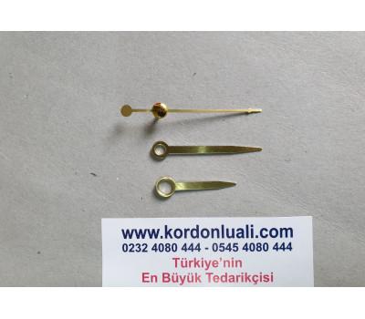 Akrep 3,1 cm Yelkovan 4,3 cm Metal Gold