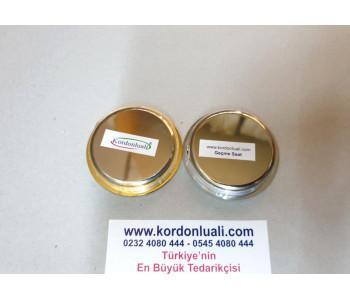 Geçme Saat 5,5 cm Metal Kasa Gold Veya Gümüş