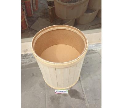 Zeytin Turşu peynir Baharat Kuruyemiş Teşhir Kovası Çapı 35 cm Kapaklı