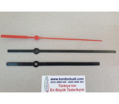 Plastik Akrep 16,5 cm Yelkovan 20 cm Siyah 100 Ad