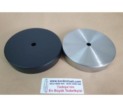 Saat Mekanizmasını Gizleme Yuvası Metal Siyah Veya Gümüş