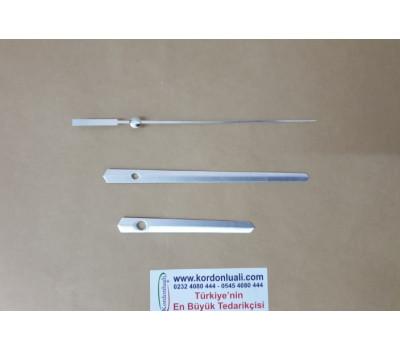 Akrep 9 cm Yelkovan 13 cm Metal Gümüş 100 Adet