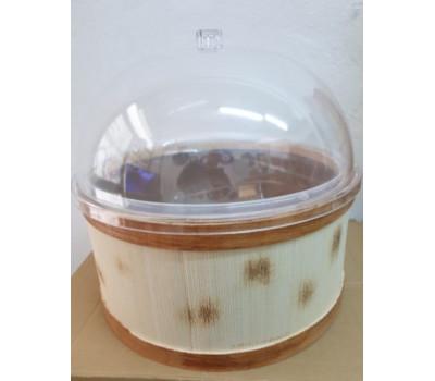 Zeytin Salça Turşu Teşhir Kovası Çapı 40 cm Leğenli Kapaklı