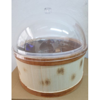 Zeytin Salça Turşu Teşhir Kovası Çapı 35 cm Leğenli Kapaklı