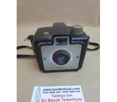 Antika Kodak Brownie Holiday 1953 Fotoğraf Makinesı