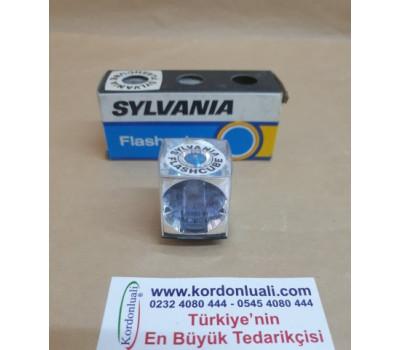 Sylvania Flashcube Fotoğraf Makinesi Küp Flaş Ampülü 3 Ad
