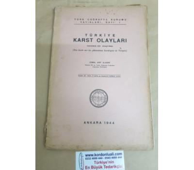 Türkiye Karst Olayları 1944