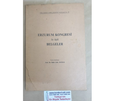 Erzurum Kongresi İle İlgili belgeler