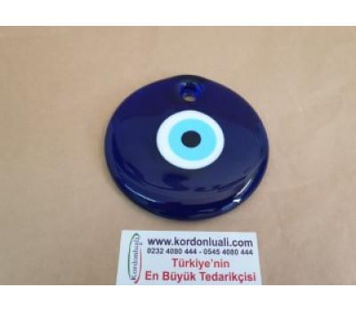 Nazar Boncuğu 10 cm Cam Delikli