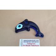 Nazar Boncuk 11 cm Cam Yunus balığı