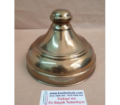 Cam Kavanoz Kapağı Ağız Çapı 16,5 cm Pirinç