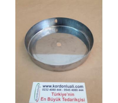 Saat Mekanizma Yuvası Ön Tarafta Gizlemek İçin metal Gümüş