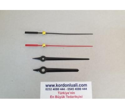 Akrep 7,9 cm Yelkovan 9,9 cm Metal Siyah 100 Adet