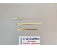 Akrep 7,9 cm Yelkovan 9,9 cm Metal Gold 100 Adet