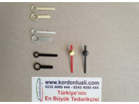 Metal Akrep 2 cm Yelkovan 2,5 cm Siyah Gümüş Veya Gold