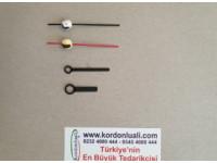 Metal Akrep 2,5 cm Yelkovan 3,5 cm Siyah