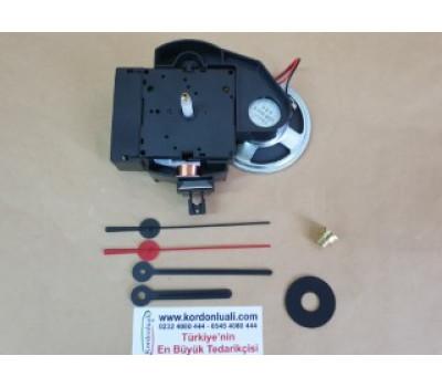 Sarkaçlı Saat Makinesi 16,2 mm Bim Bam Melodili Euroshaft UTS Alman