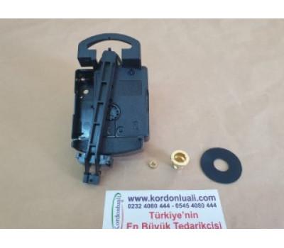 UTS Quartz Sarkaçlı Saat Makinesi Euro Shaft 16,2 mm Alman