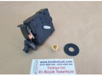UTS Quartz Sarkaçlı Saat Makinesi Round Shaft 15,7 mm Alman