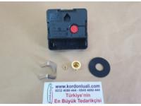 UTS Tersine Hareket Saat Makinesi Quartz 16,2 mm Euro Shaft Alman