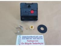UTS Tersine Hareket Saat Makinesi Quartz 20,1 mm Euro Shaft Alman