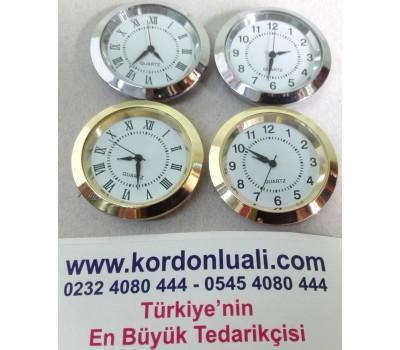 Geçme Saat 3,5 cm Gold Veya Gümüş Tam Veya Roma Rakam 100 Ad
